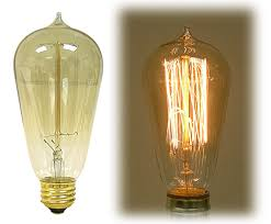 antique style edison light bulbs national artcraft