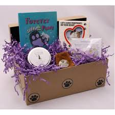 gift baskets sympathy cat sympathy keepsake box healing baskets