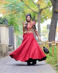 Pakaian Gamis Terbaru 2016 inspirasi model baju gamis muslim dan batik modern terbaru part 4