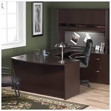 C Shaped Desk Bush Business Series C 4 U Shape Right Bow Front Desk