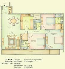 vatika city floor plan ready to move homes emilia aster sovereign