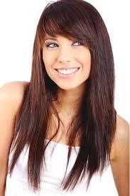 hairstyles bangs and layers i like the cut and color maybe a little holder color for me lol