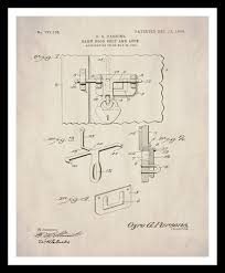 What Size Paper Are Blueprints Printed On by Instant Download Patent Print Barn Door Hardware Farmhouse