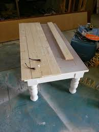 Table Legs At Home Depot Coffee Table Nifty Thrifty Momma Farmhouse Style Coffee Table