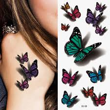 2pcs lot product waterproof temporary tattoo stickers 3d
