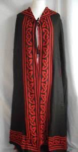 pagan ceremonial robes reversible ceremonial robe ritual clothing pagan occult hooded