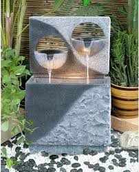 innovative contemporary garden fountains more like household