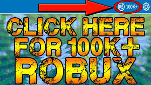 roblox is giving everyone 100 000 robux for free how to get
