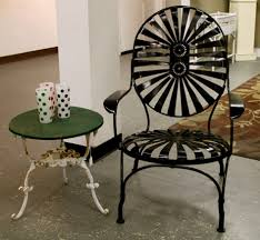 How To Paint Metal Patio Furniture - furniture renowned wrought iron patio furniture sipfon home deco