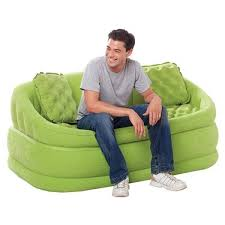 canap gonflable canapé gonflable 2 places vert achat vente canapé sofa