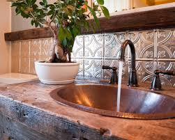 Beautiful Punched Tin Backsplash Pictures Home Design Ideas - Tin tile backsplash