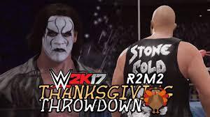 sting vs cold steve 2k17 thanksgiving throwdown