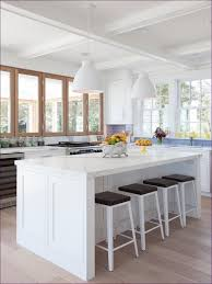 kitchen room magnificent polished carrara marble subway tiles