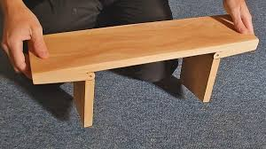 How To Make A Seiza Bench