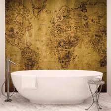 top 18 bathroom wall murals allstateloghomes com map wall mural bathroom design