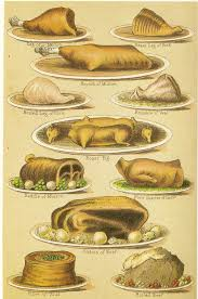 vieux livre de cuisine dishes from mrs beeton history food