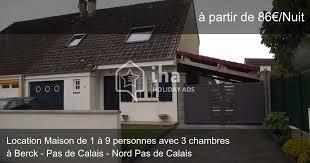 location maison nord particulier 3 chambres location maison dans une voie privée à berck iha 50976