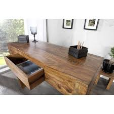 bureau en bois moderne bureau moderne 100 cm à 1 tiroir en bois massif bureau