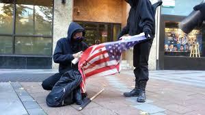 Flag Burning Legal Anarchists Burning The American Flag Youtube
