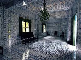 French Chateau Interior Chateau De Groussay In France The Interior Is Completely Clad In