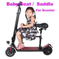 siege bebe scooter scooter enfants siège bébé selle électrique scooter pliable enfants