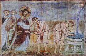 Christ Healing The Blind Italian Romanesque Art U2013 Ars Artistic Adventure Of Mankind