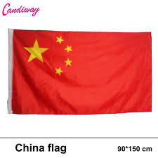 Flag With Yellow Star Fly 3 5ft 90 150cm Hanging China Banner 5 Star Chinese Red Flag