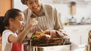 what percentage of american homes eat turkey on