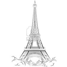 gallery paris eiffel tower sketch drawing art gallery