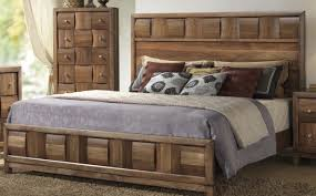 Wood Bedroom Furniture Roundhill Furniture
