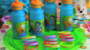 bubble guppies birthday party ideas youtube