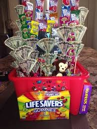 birthday basket sweet 16 birthday basket i made for my niece of all of