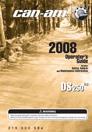 can am offroad vehicle ds250 pdf user u0027s manual free download u0026 preview