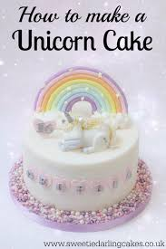 How To Be A Unicorn For Halloween by How To Make A Unicorn Cake Sweetie Darling Cakessweetie Darling