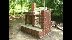 brick smokehouse construction youtube