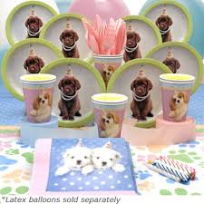 puppy party supplies dog theme party supplies and rental equipment