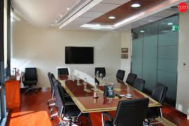 attractive office meeting room design with nice rectangular wooden