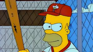 homer simpson homer simpson has been inducted into the baseball hall of fame