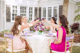 bridesmaid luncheon radiant orchid bridesmaids luncheon wedding inspiration