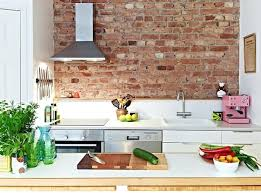 kitchens with brick walls kitchen with brick wall exposed cool install furniture style