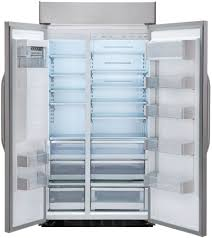 lg lssb2791st 42 inch built in side by side refrigerator with