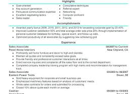 Sample Of Sales Associate Resume Sample Resume Of Sales Associate Create My Resume Sample Resume
