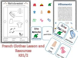 6 u0027all about me u0027 french lessons and resources bundle ks1 2 by