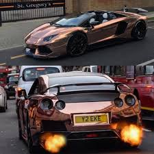 car lamborghini gold rose gold cars are evolving