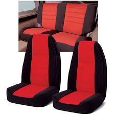 custom jeep seats rugged ridge neoprene custom fit seat covers combo for 76 90 jeep