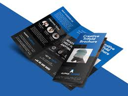 sided tri fold brochure template creative agency trifold brochure free psd template psdfreebies