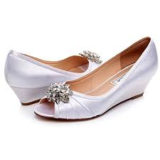 2 inch heel wedding shoes yooziri shoes lace based with satin low heel wedding shoes