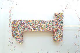 number cake topper 1 cake topper diy