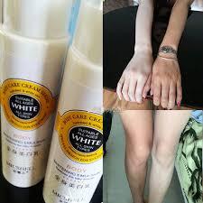 Pemutih Cr pijat tubuh whitening lotion krim pemutih tubuh wajah krim