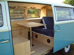 volkswagen van interior h2o sixth scale barbie adventures vw van conversion to camper
